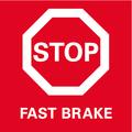 Fast Break инерционный тормоз выбега для максимальной безопасности благодаря быстрой остановке инструмента.
