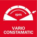 Электроника Vario-Tacho-Constamatic (VC) для управления числом оборотов в зависимости от свойств материала